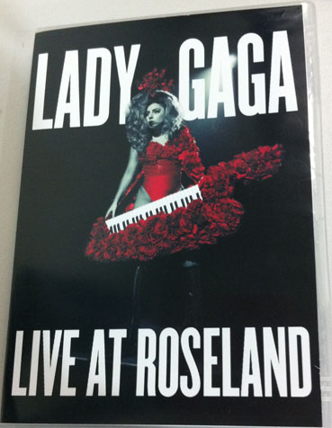 dvd lady gaga live at roseland artpop artrave ball tour