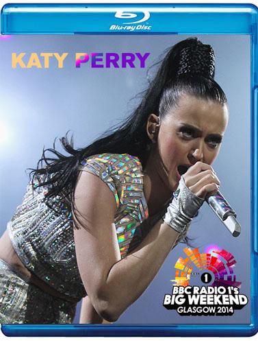 dvd-blu-ray katy perry big weekend 2014 prism blu-ray cover