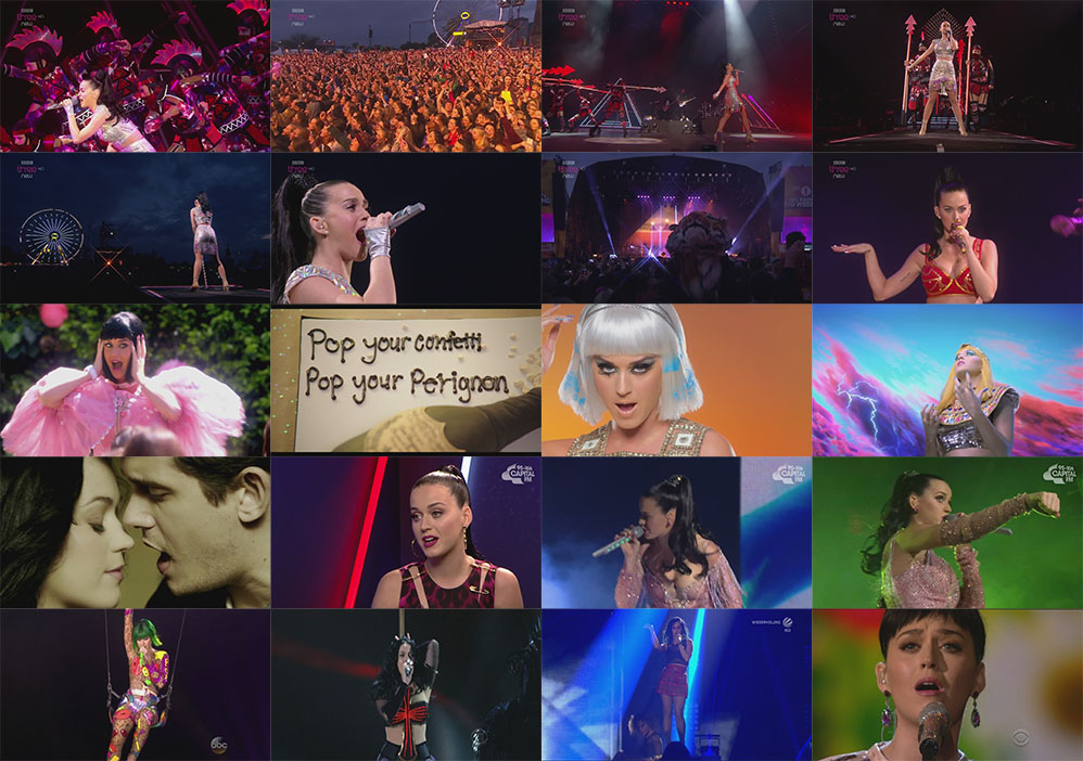 dvd-blu-ray katy perry big weekend 2014 prism capturas
