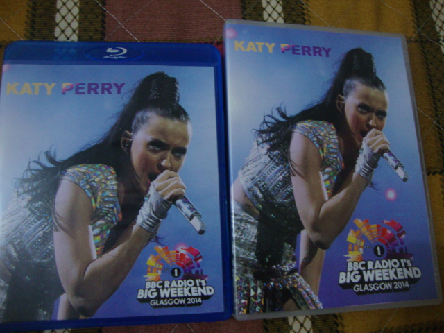 dvd-blu-ray katy perry big weekend 2014 prism together
