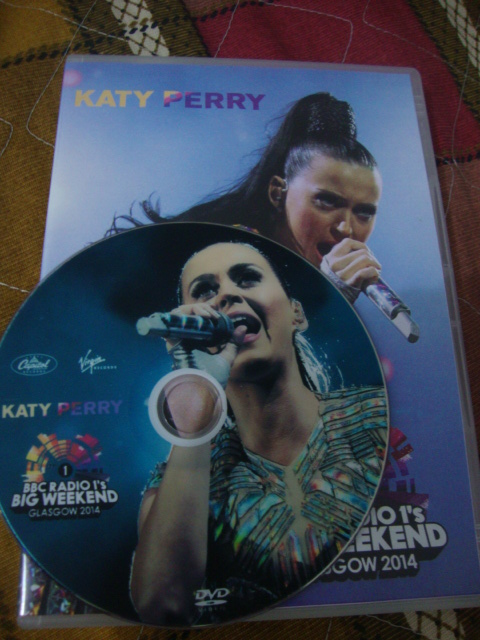 dvd katy perry big weekend 2014 prism disc