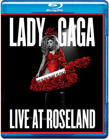 blu-ray lady gaga live at roseland artrave ball tour
