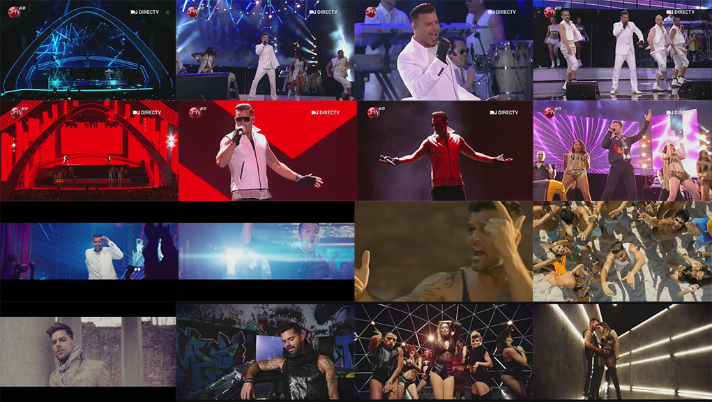 dvd ricky martin festival viña del mar come with me adrenalina