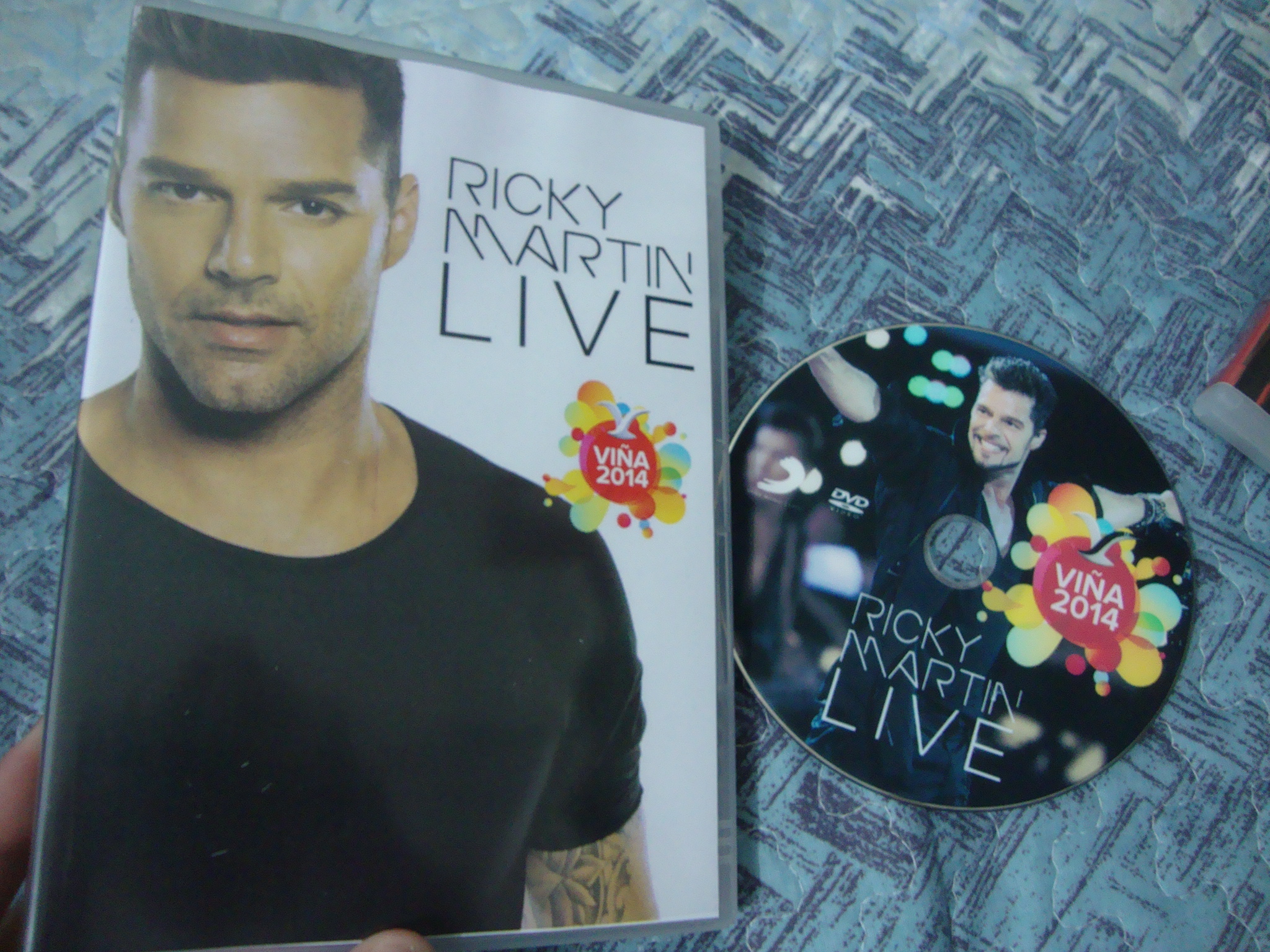 dvd ricky martin festival viña del mar come with me adrenalina2
