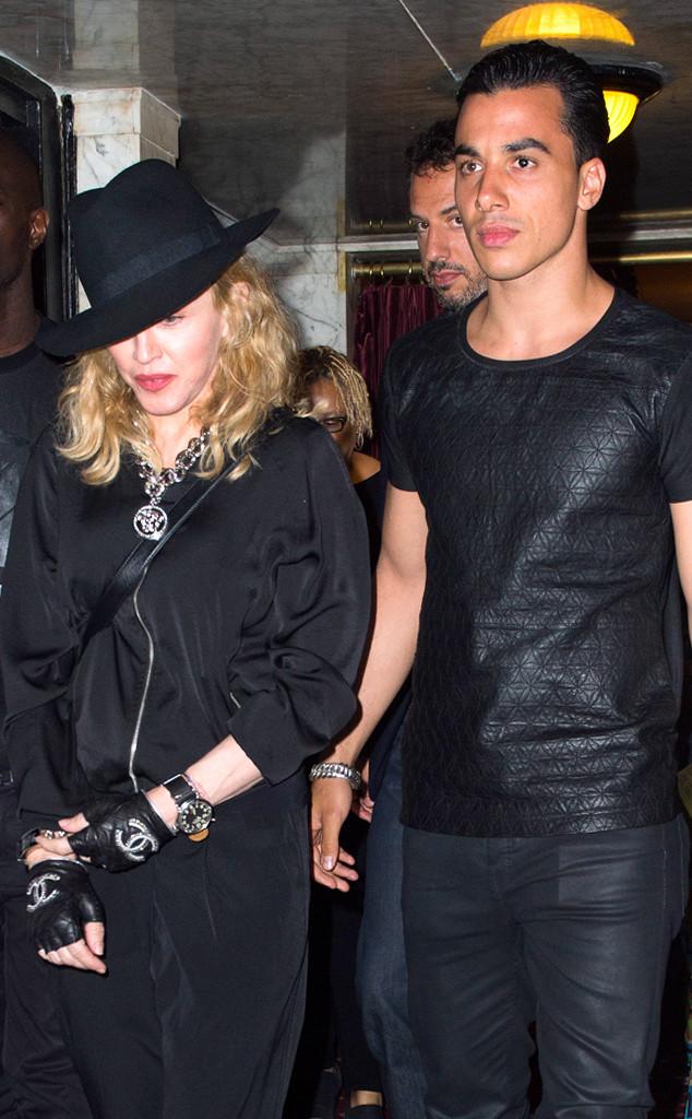 Madonna comTimur Steffens em junho
