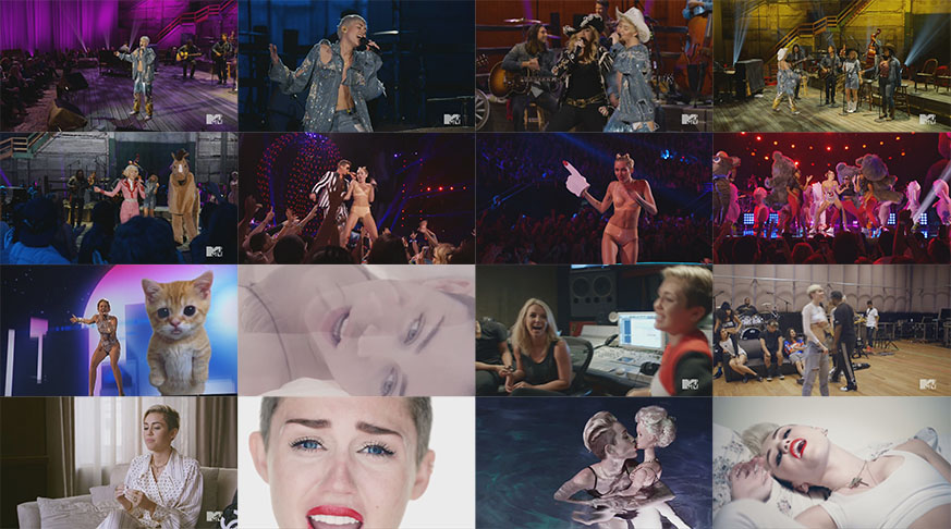 dvd e blu-ray miley cyrus mtv unplugged 2014 we can't stop vma 2013