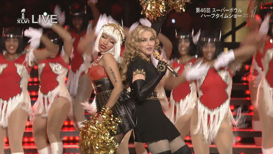 madonna-nicky minaj superbowl