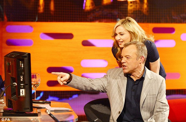 madonna e Graham Norton