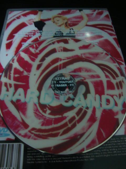 DVD Madonna Hard Candy cd