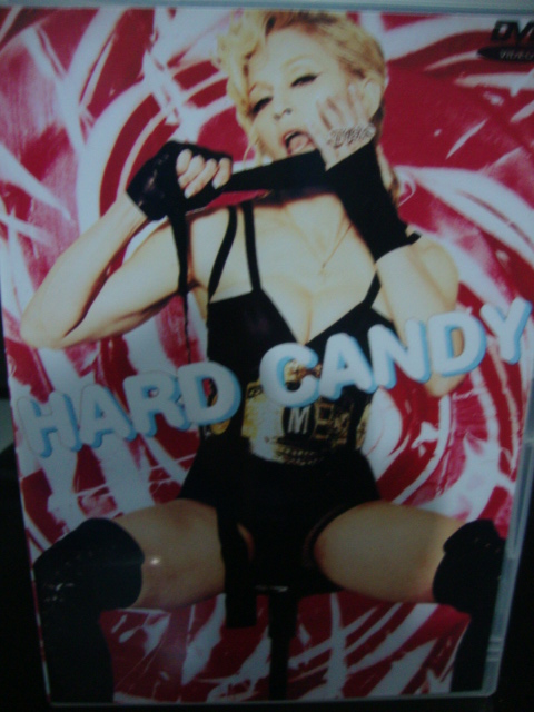 DVD Madonna Hard Candy
