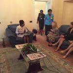 Madonna e o Presidente do Malawi Peter Mutharika11