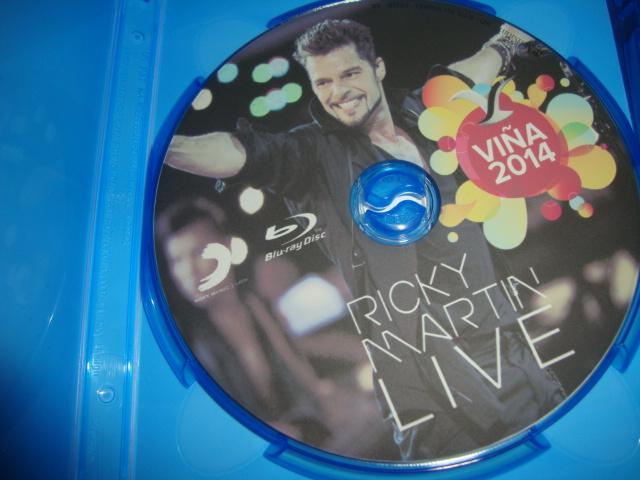 blu-ray ricky martin vinã del mar + bonus disc
