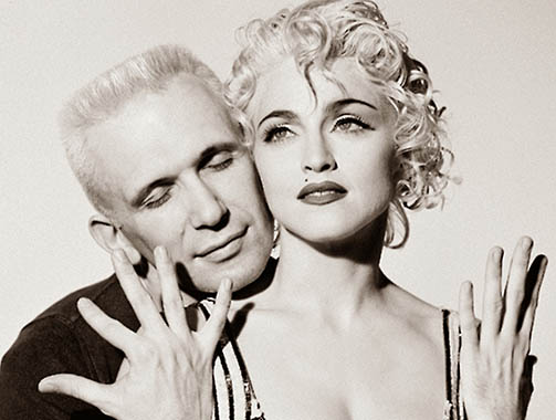 madonna e JEAN PAUL GAULTIER blond ambition