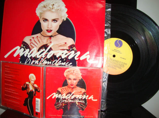 madonna you can dance birthday aniversário 27 anos vinyl e cd