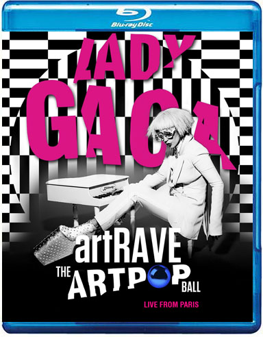BLU-RAY Lady Gaga ARTPOP aRTRAVE Live From Paris capa 2