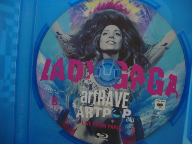 BLU-RAY Lady Gaga ARTPOP aRTRAVE Live From Paris