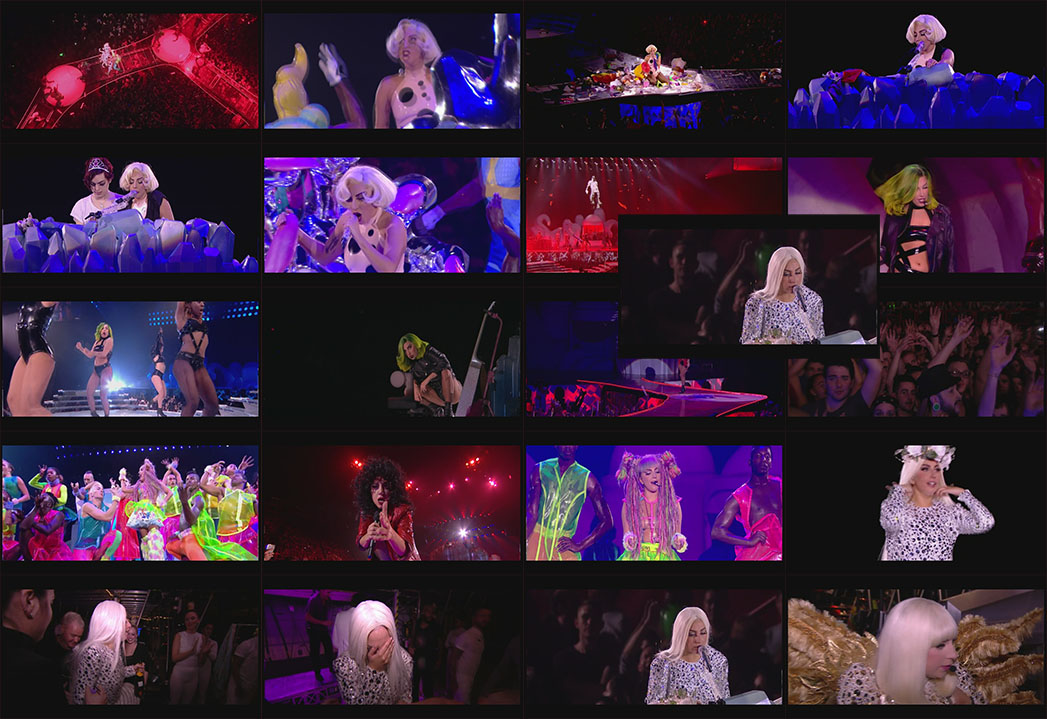 DVD BLU-RAY Lady Gaga ARTPOP aRTRAVE Live From Paris