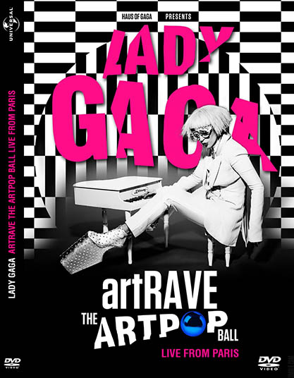 DVD Lady Gaga ARTPOP aRTRAVE Live From Paris CAPA 2