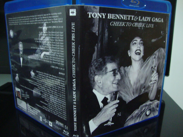 blu-ray lady gaga e tony bennett cheek to cheek PBS + extras 1