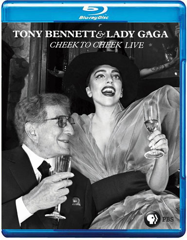 blu-ray lady gaga e tony bennett cheek to cheek PBS + extras capa