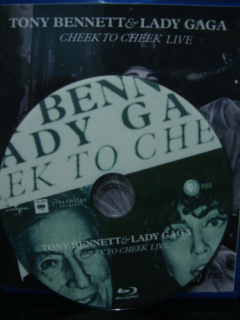 blu-ray lady gaga e tony bennett cheek to cheek PBS + extras disco
