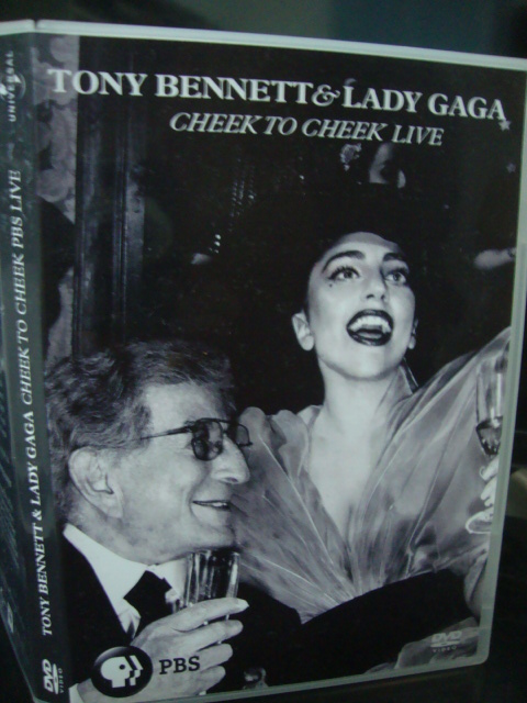 dvd lady gaga e tony bennett cheek to cheek PBS + extras 1