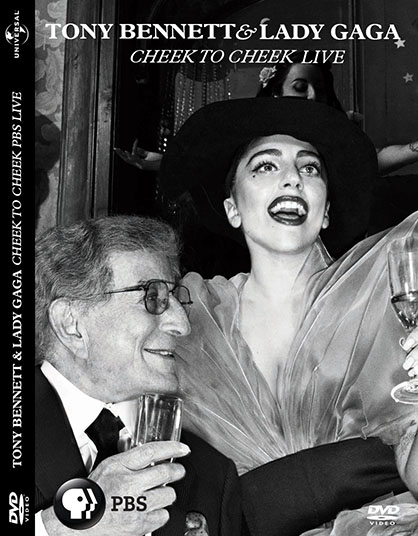 dvd lady gaga e tony bennett cheek to cheek PBS + extras capa