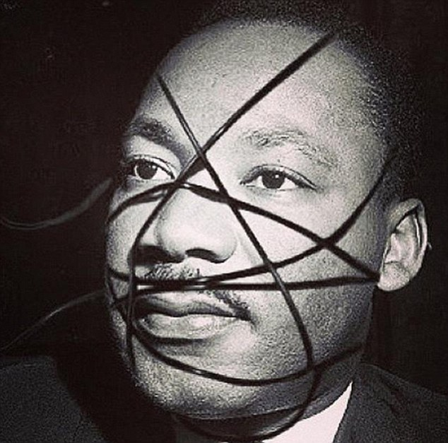 madonna instagram Martin Luther King
