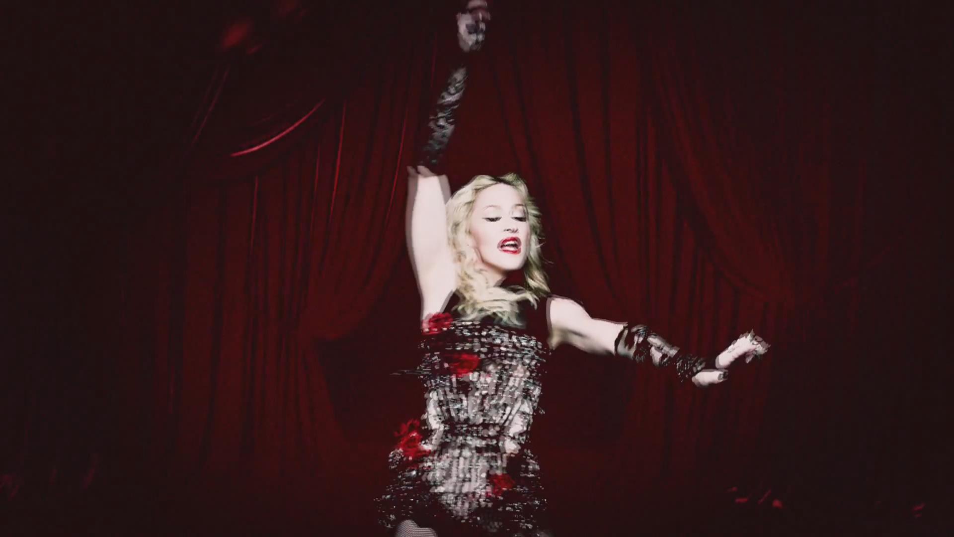 Madonna Living For | madonna living for love clipe