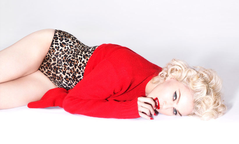 Madonna living for love promo picture foto