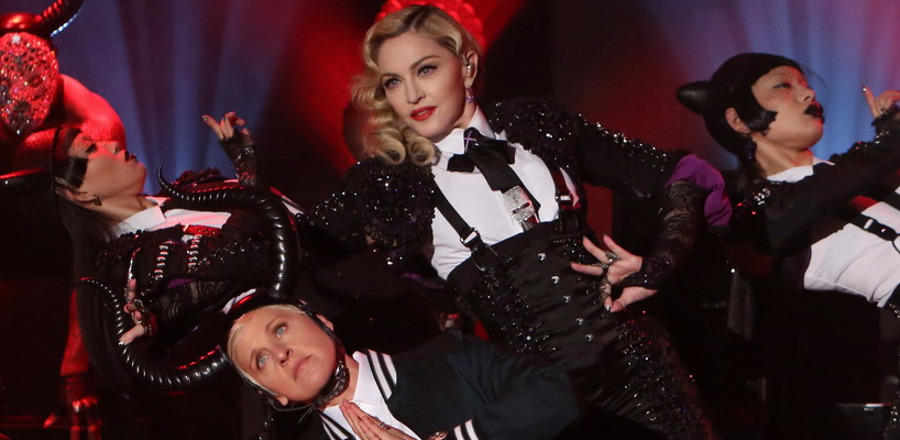 madonna ellen 2015 - rebel heart - living for love