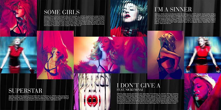 madonna mdna remixes deluxe download cd Booklet 3