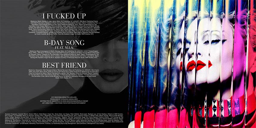 madonna mdna remixes deluxe download cd Booklet 6
