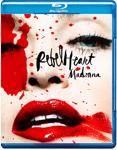 dvd blu-ray madonna rebel heart promo tour 1