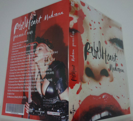 dvd madonna rebel heart 2