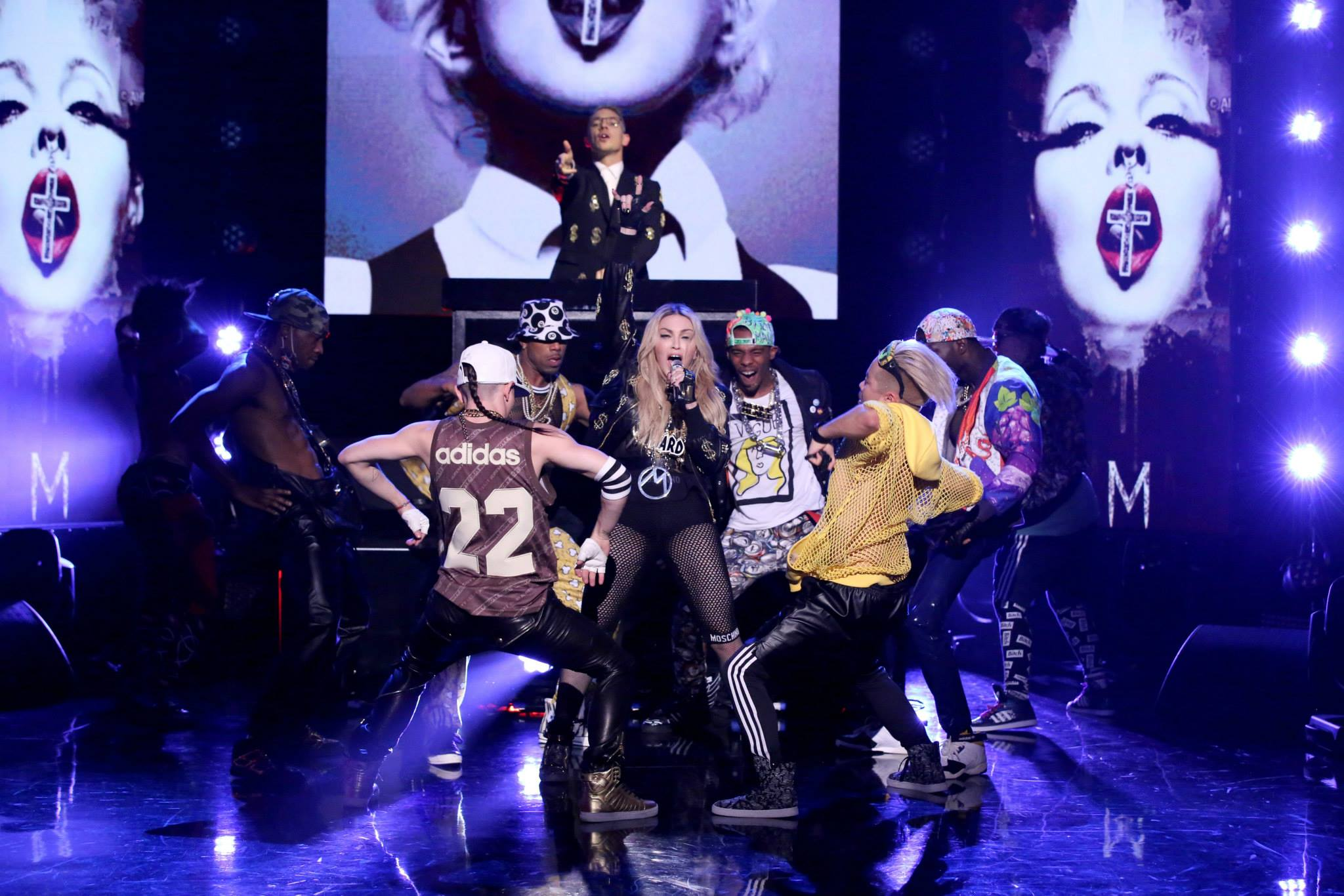 madonna jimmy fallon 2015 bitch i'm madonna