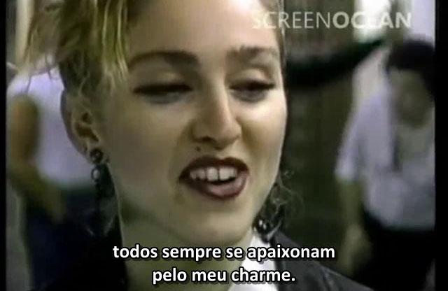 Madonna no programa britânico Ear Say em 1984 - entrevista