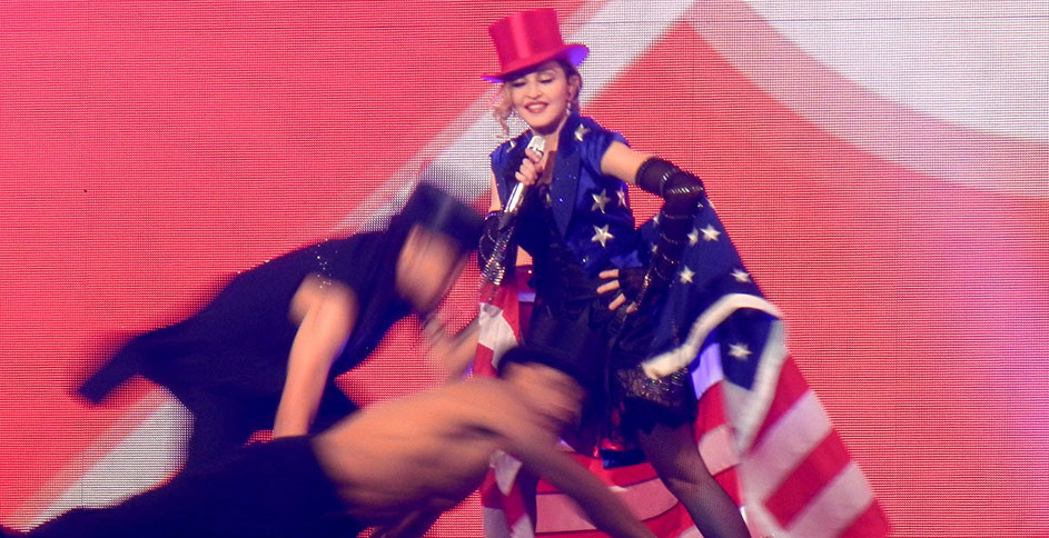 madonna rebel heart tour Washington holiday