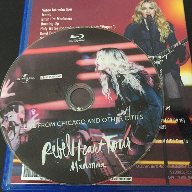 Rebel Heart Tour Dvd Amazon