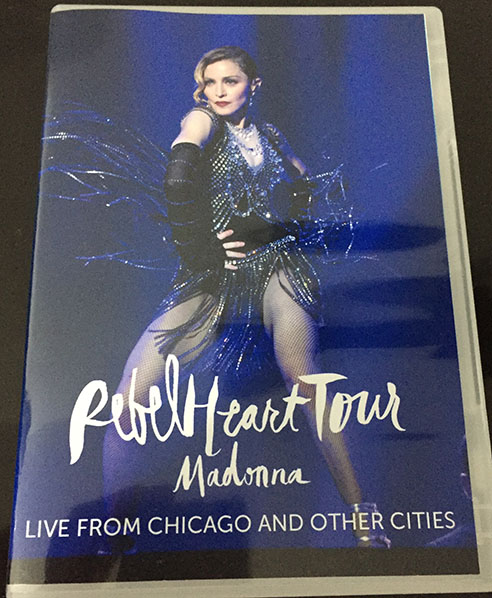 dvd madonna rebel heart tour chicago 1