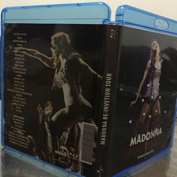 madonna blu-ray re-invention tour lisboa mdna rebel heart dvd 8