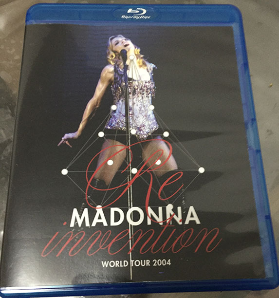 madonna blu-ray re-invention tour lisboa mdna rebel heart dvd