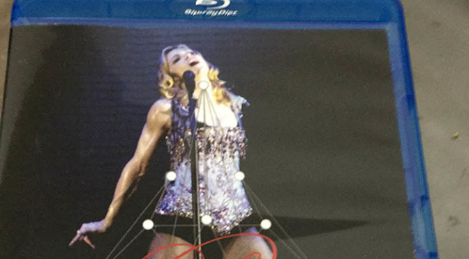 Blu-ray Madonna – Re-Invention Tour Lisboa