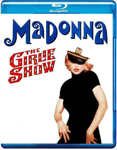 blu-ray madonna the girlie show australia