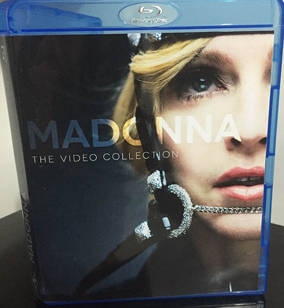 blu-ray Madonna Video Collection