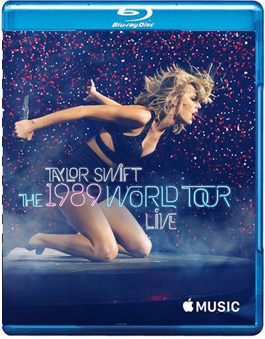 Bluray Taylor Swift 1989 Tour dvd