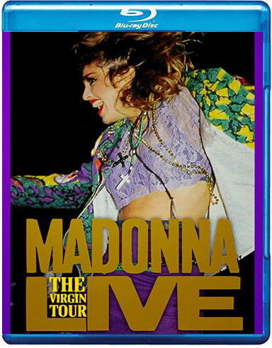 blu-ray madonna The Virgin Tour