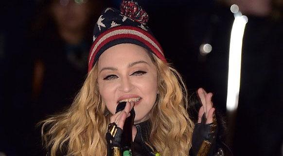 Madonna faz show para Hillary Clinton