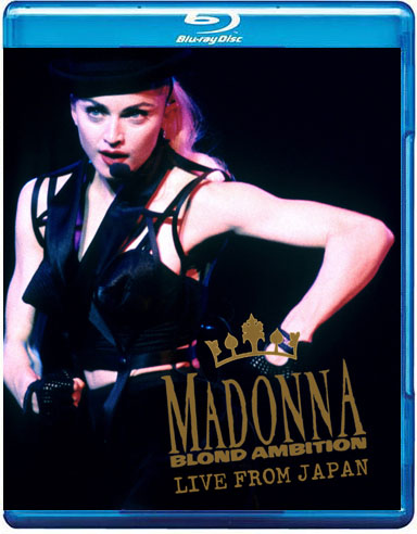 Bluray Madonna Blond Ambition Japan 2