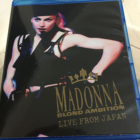 Bluray Madonna Blond Ambition Japan cover